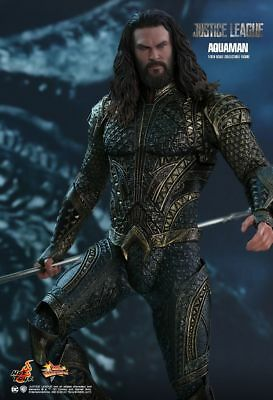 Hot Toys MMS447 DC Justice League Aquaman 1/6 Action Figure Jason Momoa