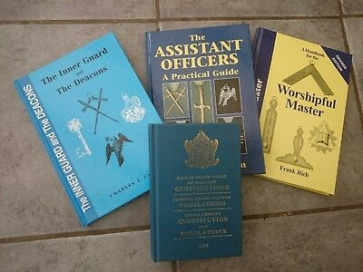 Collection of 4 Masonic Books