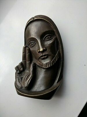 Small Vintage French ? Religious Bronze of Christ