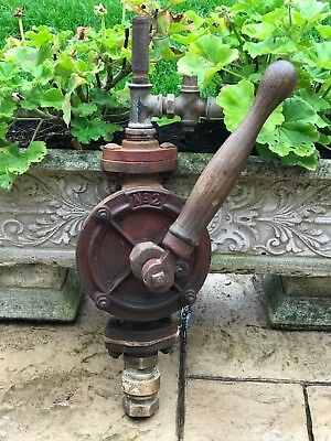 Vintage No 2 Hand Water Bilge Pump Boat Ship Pump Industrial Salvage Brass