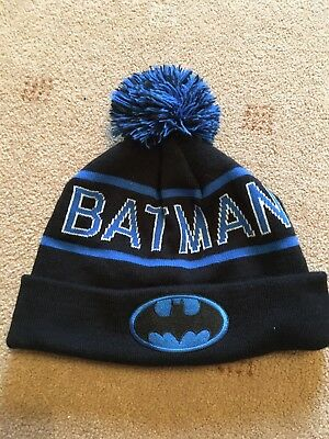 Boys Batman Hat From Next Size 7-10 Years