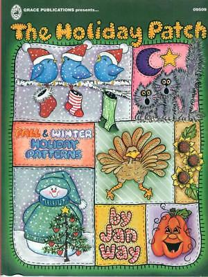 GRACE PUBLISHING PRESENTS: THE HOLIDAY PATCH BOOK by JAN WAY