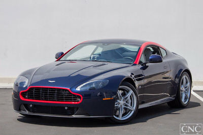2016 Aston Martin Vantage GT 2016 Aston Martin V8 Vantage Coupe GT Mariana Blue Only 167 Miles Manual 6 Speed