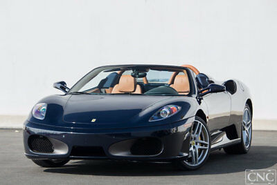 2006 Ferrari 430 Spider 2006 Ferrari 430 F430 Convertible Spider in Blue Pozzi with 11,981 Miles