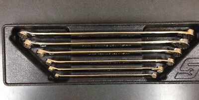 SNAP ON #XDHM606  6 pc 12-Point 15° Offset Metric Box Wrench Set (8–20 mm)15726