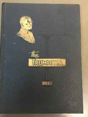 The Trumpeter 1933 Yearbook, St John's Military Academy, Delafield Wisconsin