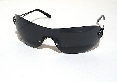 Versace Real Vintage Black Medusa Sunglasses Occhiali N30  Made  in  Italy