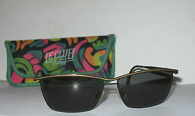 Le Club Actif Real Vintage Sunglasses Occhiali mod Gerard Made in Italy MINT