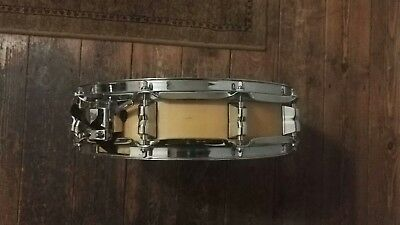 14x3.5 Piccolo Snare Drum Maple(?) Custom Remo