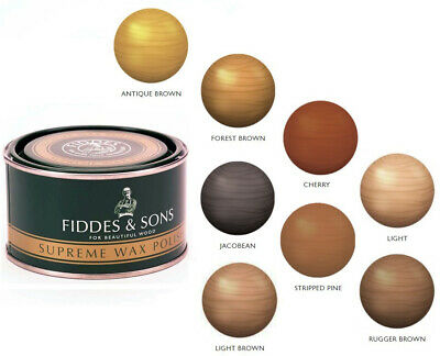 Fiddes - Supreme Furniture and Woodwork Wax Polish - 400ml - All Colours