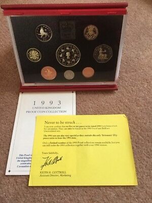 The 1993 Deluxe Proof Coin Set