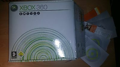 Microsoft Xbox 360 nur OVP Verpackung Box only mit Inlay Anleitung Manual