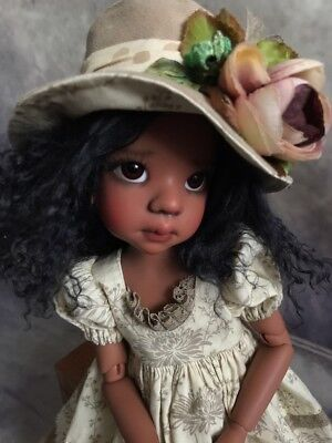 Dress from Natalie for dolls Kaye Wiggs MSD or similar size.