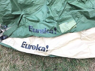 "Eureka Marine Combat Tent ""Rain Fly ""ONLY""  New Replacement OD/TAN"