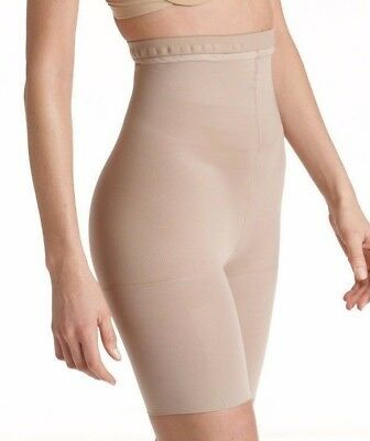 3e58c0d17 Star Power By Spanx Tame To Fame High Waisted Mid Thigh Shaper Natural Glam  A
