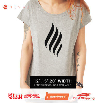 Siser EasyWeed Iron On Heat Transfer Vinyl - Black