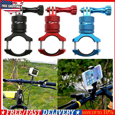 Bicycle Bike Motorcycle Handlebar Mount Holder Clamp For Gopro Hero 4/3+/3/2/1