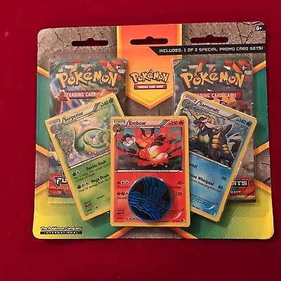 Pokemon Furious Fists 2 Booster Packs Sealed plus promo cards and coin