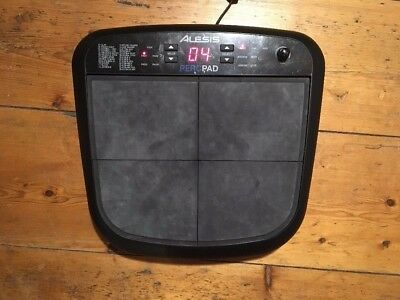 alesis percpad 4 pad electronic drum machine