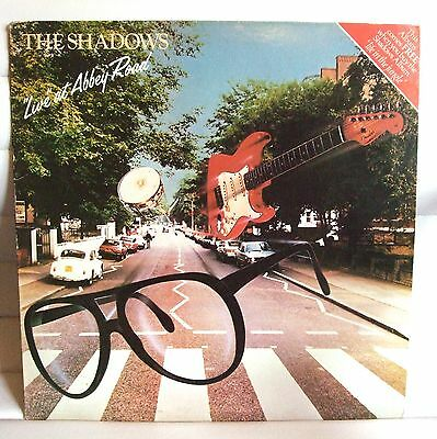 The Shadows -  Live At Abbey Road Ex.condition Lp Record - Used
