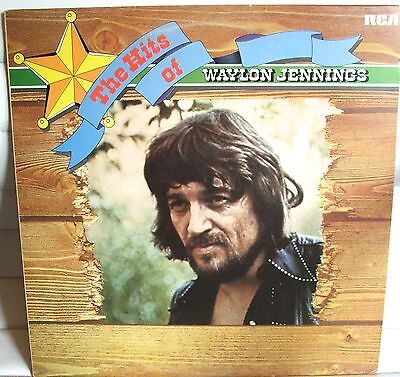 Waylon Jennings The Hits Of -  Good Condition Lp Record - Used