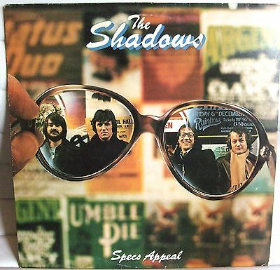 The Shadows -  Specs Appeal   Ex.condition Lp Record  - Used