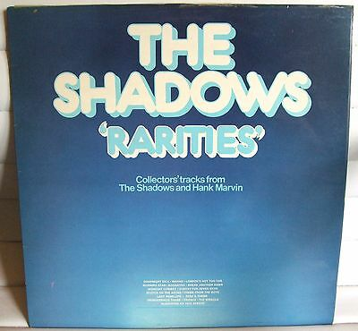 The Shadows -  Rarities  Ex.condition Lp Record - Used