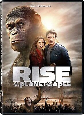 Rise Of The Planet Of The Apes DVD NEW