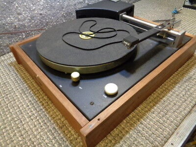 ESTATE* VINTAGE UNKNOWN LINEAR TRACKING TURNTABLE with RABCO ST-4 ARM