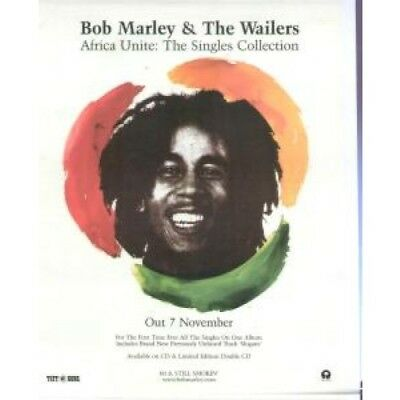BOB MARLEY AND THE WAILERS Africa Unite: The Singles Collection ADVERT UK