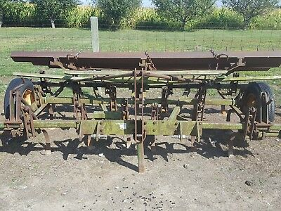 11' Kewanee Field Cultivator with Spiked Tooth Drag Harrow