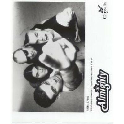 ALMIGHTY Promo Photo PHOTOGRAPH UK Chrysalis 1996 Black/White Promo Photo By