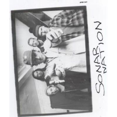 SONAR NATION Thoughts On Anyone PHOTOGRAPH UK Promo Only Photo With Info Sheets