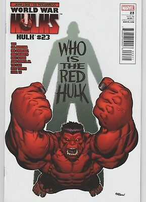 Hulk (2008) #23 Newsstand Variant Marvel Red Hulk,World War Hulks