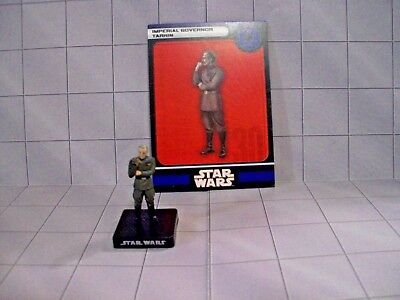 WotC Star Wars Miniatures Imperial Governor Tarkin, All & Emp 29/60, Empire, R