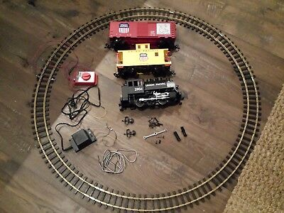 PIKO Germany - Union Pacific 120V Freight Train Starter Set Works but needs TLC