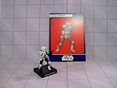 WotC Star Wars Miniatures Scout Trooper, All & Empire 31/60, Empire, Uncommon