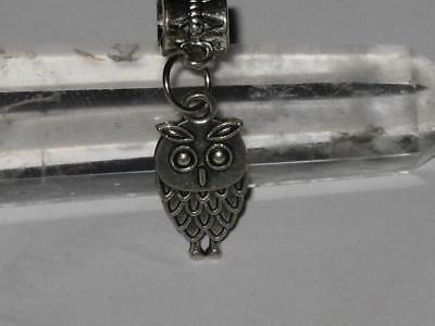 Owl Charm Pendant Coven Witch Estate GAIN KNOWLEDGE WISDOM CLARITY FOCUS Amulet