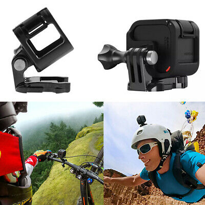 Black Low Profile Frame Housing Cover Case Mount Holder for GoPro Hero 4 Session