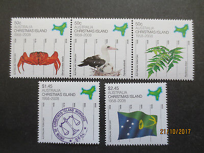 N0-1--2008  CHRISTMAS  ISLAND  50 Ys  AUST;  TERRITORY    ISSUED 4  STAMPS - MNH