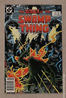 Swamp Thing (1982 2nd Series) #20 VF- 7.5