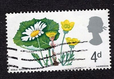 Great Britain 1967 4d Wild Flowers SG719 FINE USED R40557