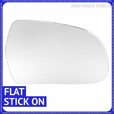 For Audi Q5 2008-16 Right Driver side Flat Electric wing door mirror glass