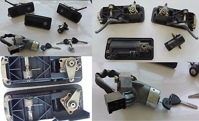 KIT maniglie + commutatore accensione Lancia Beta HPE  Handles + ignition switch