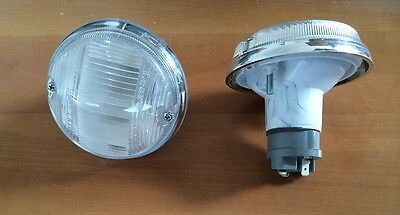 Front lights coppia fanalini FIAT 850 COUPE' MK1 - 1100 R - 124 COUPE' AC MK1
