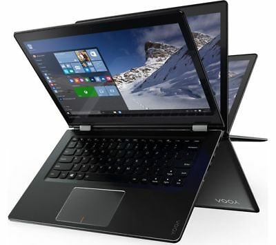 "LENOVO YOGA 510-14AST 14"" 2 in 1 - Black"