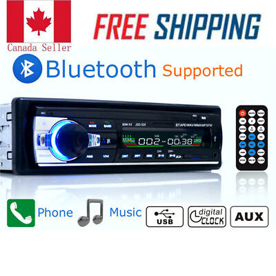 Bluetooth Car Autoradio Stereo MP3/USB/SD/AUX-IN FM Radio Player Amplifier CA