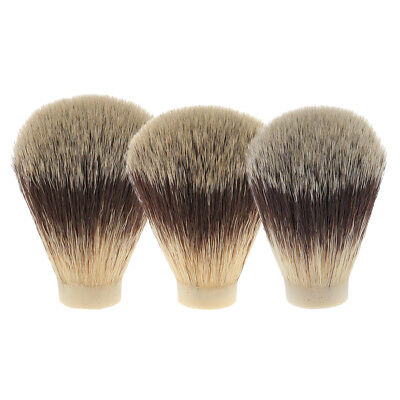 Soft Facial Shaving Brush Shave Knot for Salon Barber Beard Hair Removal