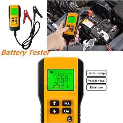 12V LCD Automotive Auto Batterie Last Tester Auto Fahrzeug Batterie Analyzer DE