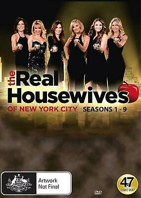 Real Housewives Of New York City, The : Season 1-9 - DVD Region 4 Free Shipping!